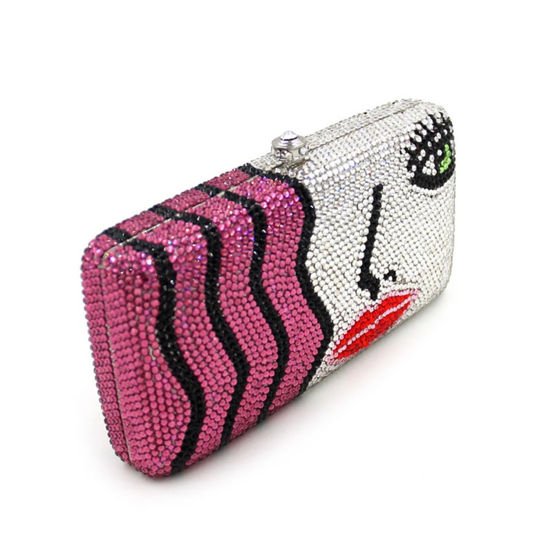 Famous New Arrival Ladies Crystal Clutch 11