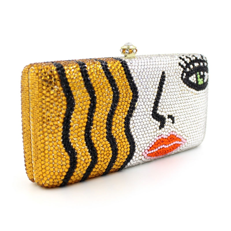 Famous New Arrival Ladies Crystal Clutch 4