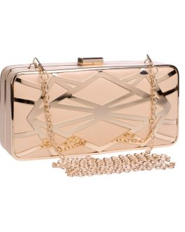 Geometric Shinning Party Clutch