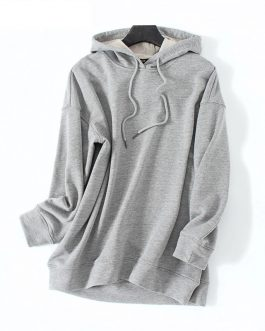 Hooded Casual Style High Street Sweatshirt Pullover Jersey
