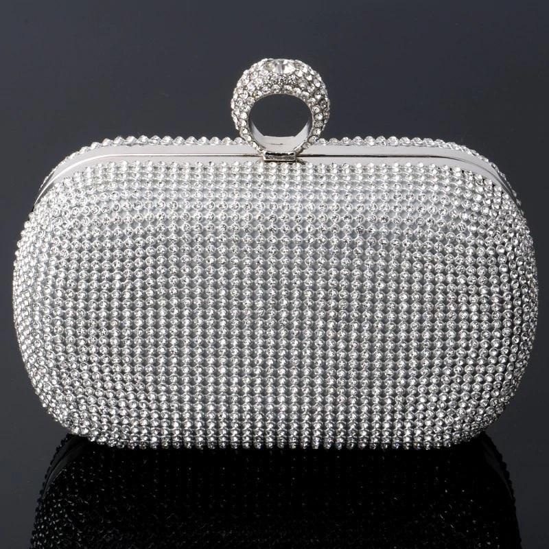 Mini Crown Metal Crystal Clutch 19