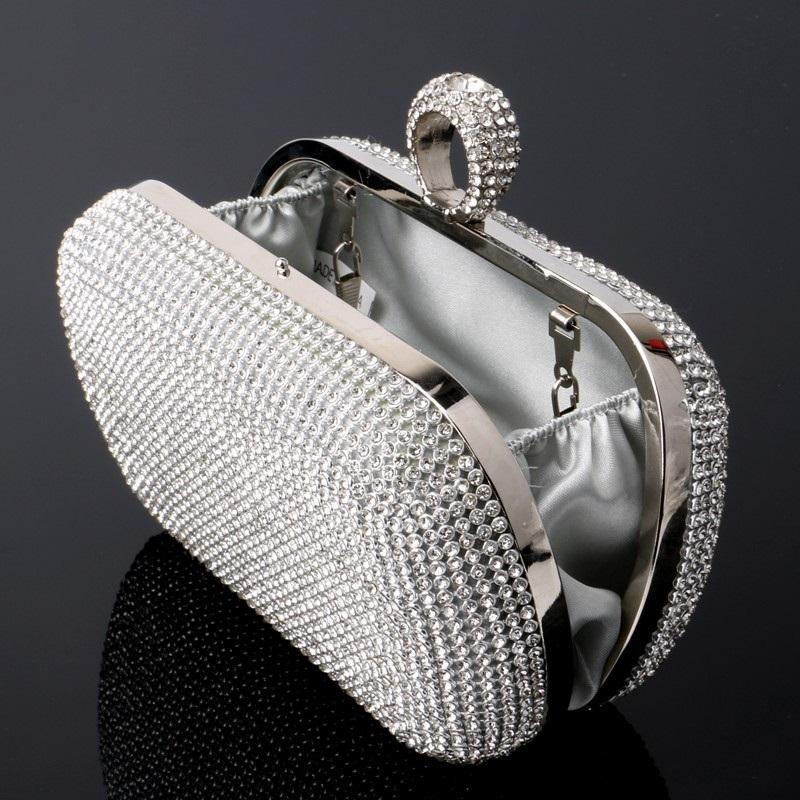 Mini Crown Metal Crystal Clutch 20