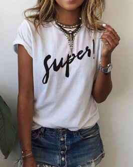 New Look Super Logo Tee Shirt