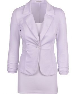 Office Wear Two Lapels Blazer