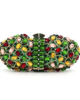 Pearl Beaded Party Clutch