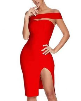 Sexy Fashion Bodycon Split Dress