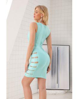 Sexy Fashion Spaghetti Strap Bodycon Dress