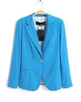 Slim  Single Button Fasshion Casual Blazer