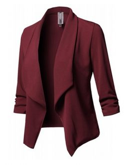Solid Colored Blazer