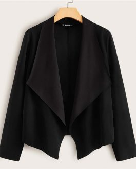 Open Front Office Ladies Casual Coats