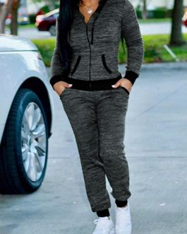 Speckle Colored Jogging Set