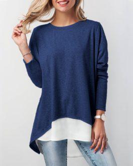 Elegant Long Sleeve Blouse Tops