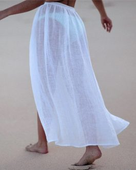 Fashion Holiday Cotton Sarong Skirt