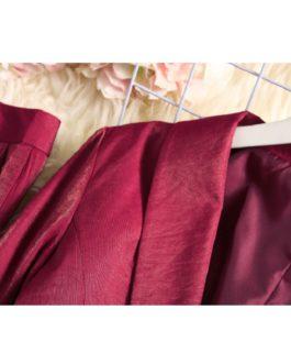 Fashion Shiny Blazer Pencil Pants Sets