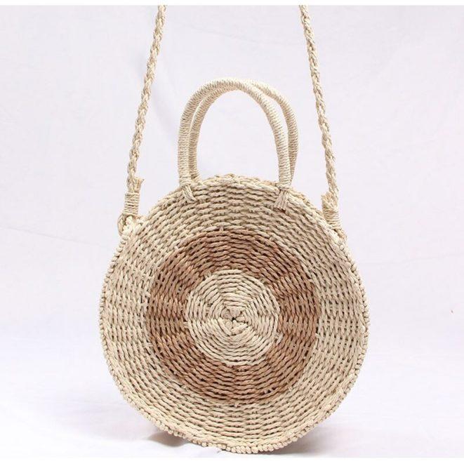 Fresh Rattan Woven Straw Rope Knitted Beach Bag 8.3 e1585418116350