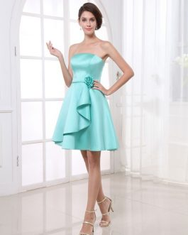 Grace A-line Flower Short Bridesmaid Dress