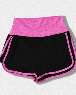 High Waist Yoga Spandex Running Shorts