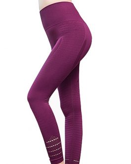 Hollow Out  High Waist Sport Leggings For Workout