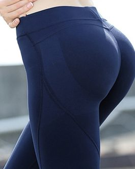 Patchwork Yoga Pants Sport Leggings