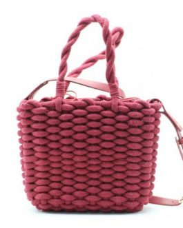 Rope Weaving Straw Fashion Crossbody Bag