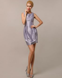 Satin Taffeta Short Bridesmaid Dresses