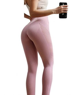 Sexy Cut Out Sport Seamless Legging Wear