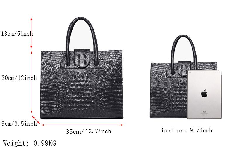 Crocodile Pattern Totes Evening Package Shoulder Messenger Bag 1