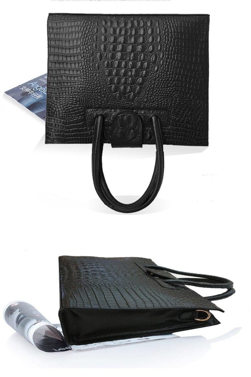 Crocodile Pattern Totes Evening Package Shoulder Messenger Bag5