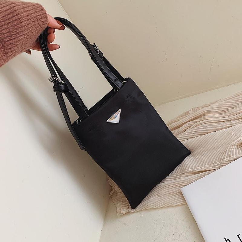 Hot Sale Handbags Oxford Cloth Shoulder Crossbody Bag Solid Color3