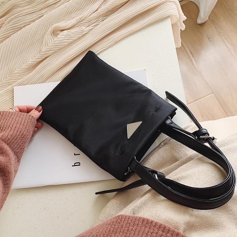 Hot Sale Handbags Oxford Cloth Shoulder Crossbody Bag Solid Color4