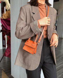 Retro Mini PU Leather Crossbody Handbag