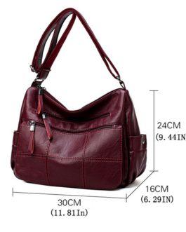 Hot Soft Leather Bolsa Luxury Crossbody Bags