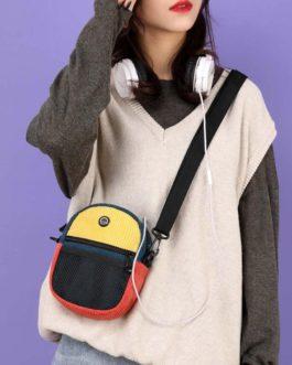 Casual Canvas Small Purse Shoulder Messenger Totes Bag