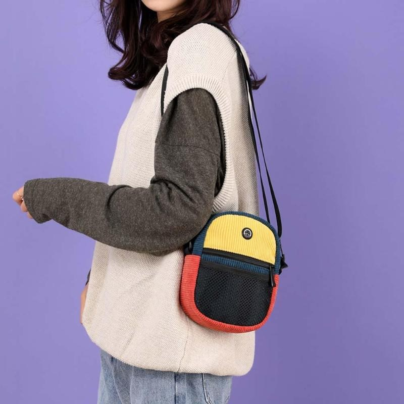 Korean Messenger Totes Bag High quality Personality Breathable2