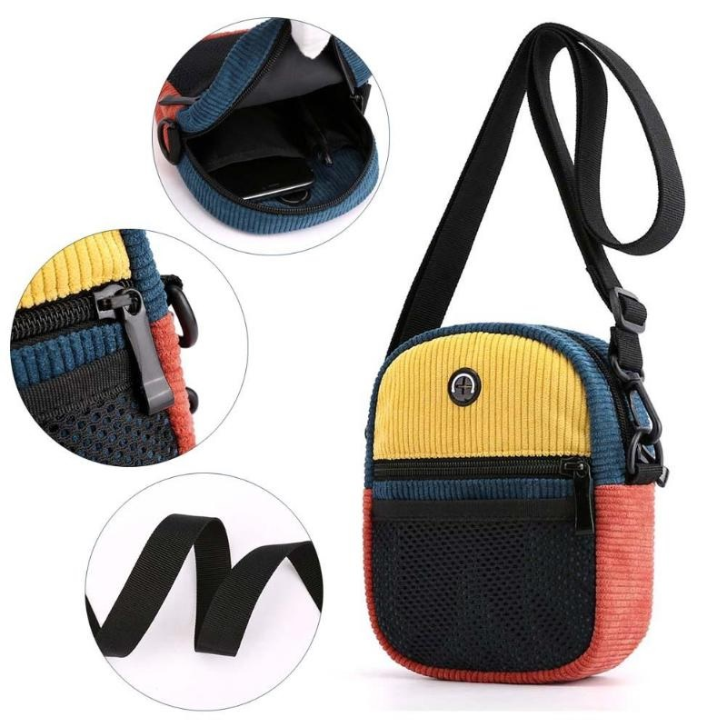 Korean Messenger Totes Bag High quality Personality Breathable3