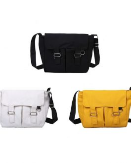 Multi-Functional Solid Color Big Messenger handbag