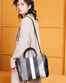 Luxury Elegant Top Handle Designer Handbag