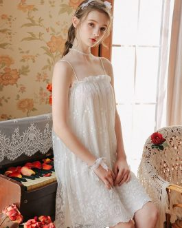 Modal Palace  Style Sweet Girls Bride Nightdress