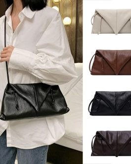 New Cloud Bag Fold Bag Leather Bag Single-shoulder Envelope Clutch Bag