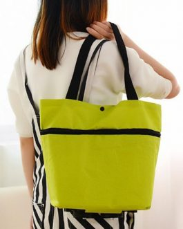 Oxford Reusable Folding Shopping Bag