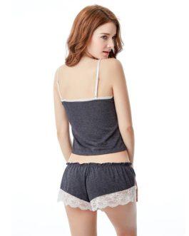 Sexy Lace Sling Sleeveless Sleepwear