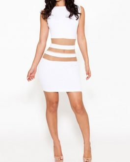 Sexy Stretchy Midi Bodycon Dress