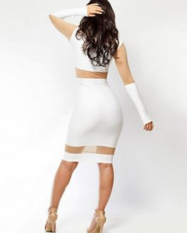Sexy Stretchy Pencil Bodycon Dress