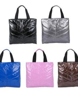 Simple Handbag Fashion Padded Cotton Casual Shoulder Bag