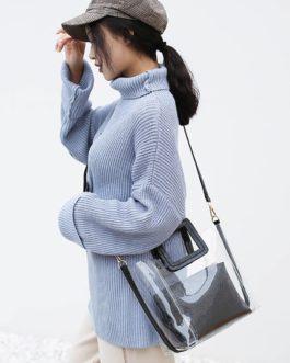 Transparent Designer High Quality Luxury Handbags