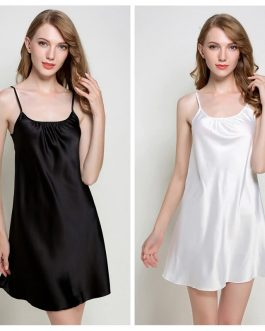 V-neck Sexy Sleeveless Sleepwear Nightgowns