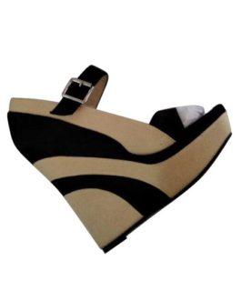 Wedge Sandals Platform Open Toe Buckle Detail Sandal Shoes
