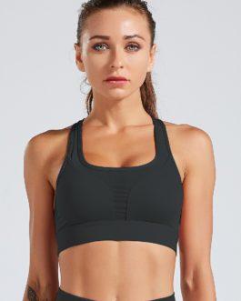Back Pocket Padded Gym Sports Bras