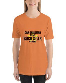 Car salesman rock star Unisex Short Sleeve T-shirt