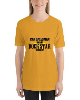 Car salesman rock star Unisex Short Sleeve T-shirt